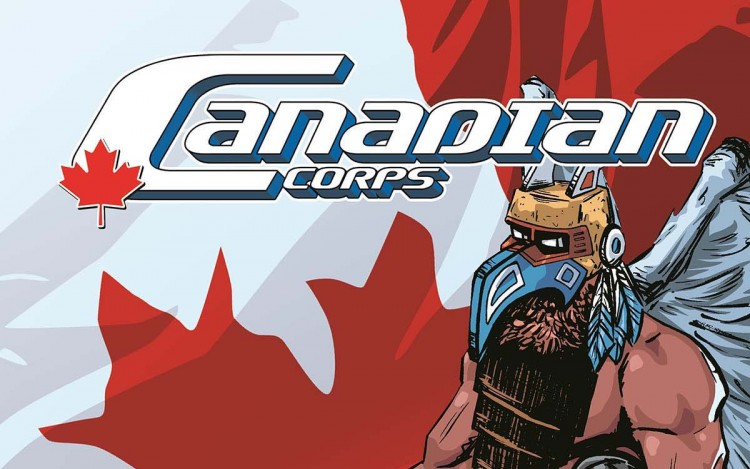Canadian comic book heros legend top